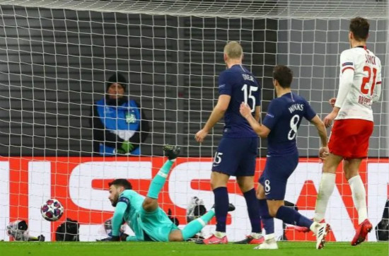 Hugo Lloris blasted on Twitter for TWO early howlers in Tottenham's crunch Champions League clash at RB Leipzig
