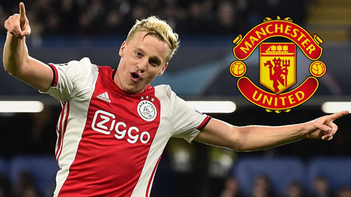 Transfer news and rumours LIVE: Man Utd looking to beat Real Madrid to Van de Beek