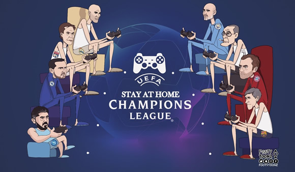 7M Daily Laugh - Stay at home Champions League