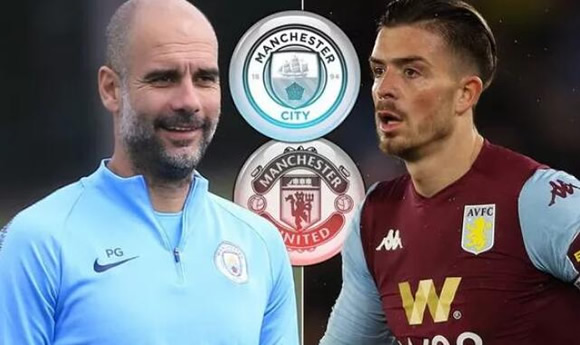 Pep Guardiola stance on Man City rivalling Man Utd for Jack Grealish transfer