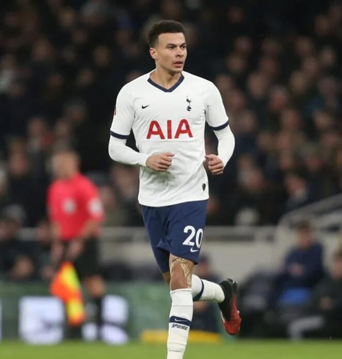 Dele Alli goes partying two nights in a row after Premier League suspends season over coronavirus fears