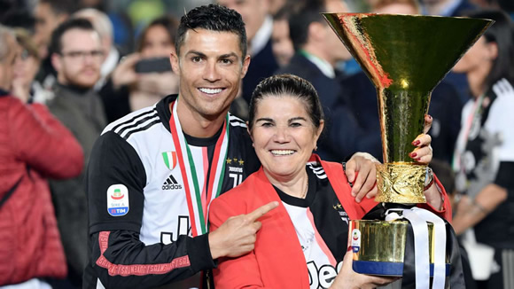 Ronaldo's mother released from hospital after stroke & welcomes chance to celebrate 'victory' with Juventus star