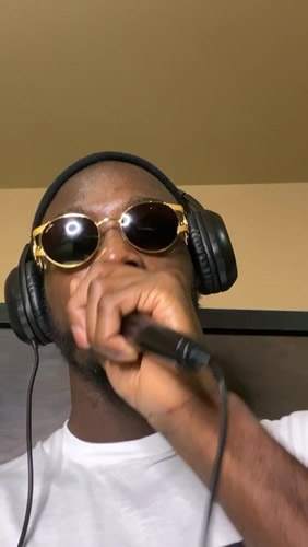 Arsenal star Nicolas Pepe raps with sunglasses on and pulls pranks with pals on lockdown after agreeing to pay cut