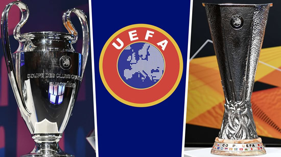 'Sporting merit' will decide qualifiers for next season's Champions League, confirms UEFA