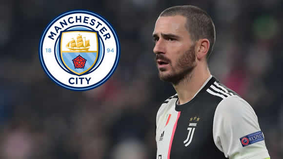 Guardiola eager to lure Bonucci to Man City but Juventus not prepared to sell prized asset
