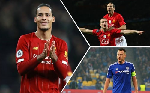 Kompany names Liverpool's Van Dijk as PL's best defender ever ahead of Terry and Ferdinand