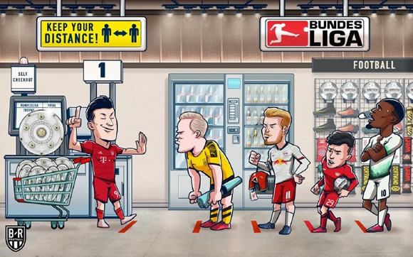 7M Daily Laugh - Bundesliga right now