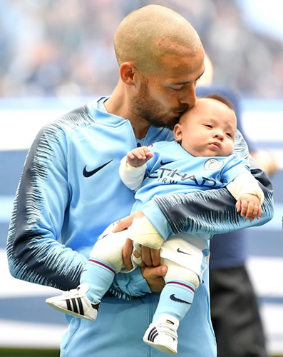 David Silva explains how nearly losing his young son helped keep football in perspective