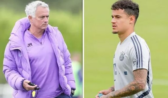 Tottenham backed to sign Coutinho as Barcelona star 'would want' to play for Mourinho