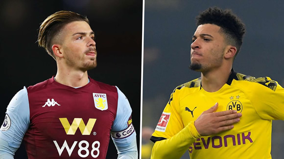 Transfer news and rumours UPDATES: Grealish ahead of Sancho as Man Utd priority