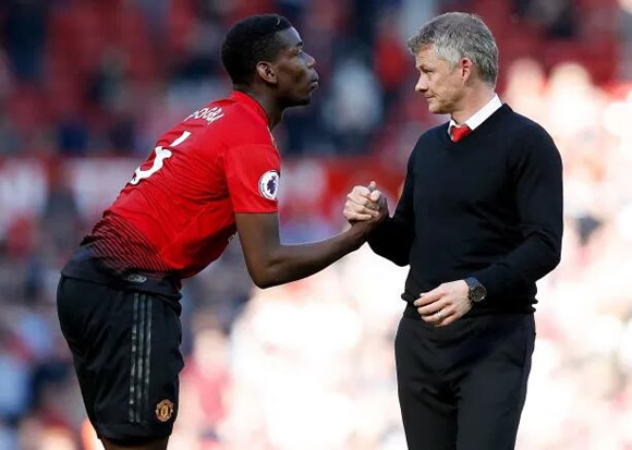 Man Utd boss Solskjaer challenges Paul Pogba to show the same leadership as he does with France