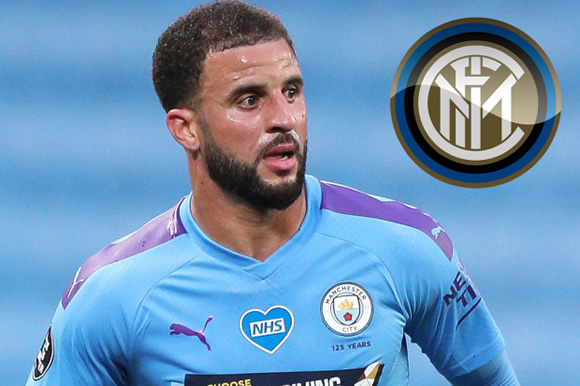 Inter Milan launch transfer chase for Man City's Kyle Walker and hope fresh start will tempt England defender to Italy
