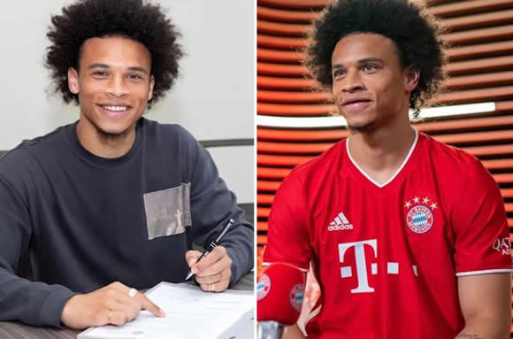 Bayern Munich apologise after announcing Leroy Sane's £55m Man City exit too soon as winger signs five-year deal