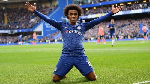 Chelsea's Willian: I prefer MLS after Europe over a return to Brazil