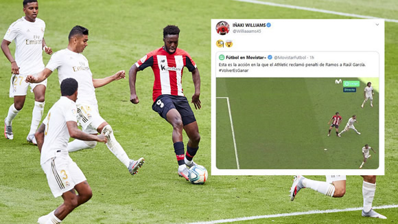 Inaki Williams and Unai Lopez fuel the fire on social media