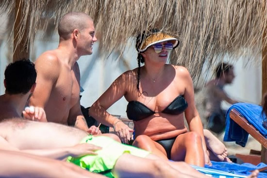 Ryan Giggs' ex-wife Stacey and The Wanted's Max George spotted on romantic break