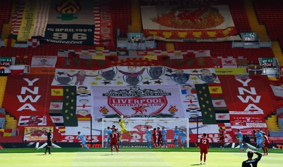 KOP KINGS Liverpool will lift Premier league trophy in special social distance ceremony on the Kop after Chelsea clash