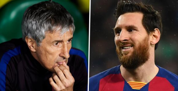 Setien: My relationship with Messi is good