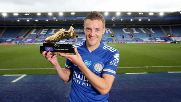 Vardy wins Premier League Golden Boot despite defeat to Man United