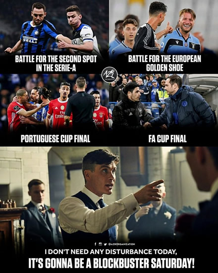 7M Daily Laugh - Arsenal v Chelsea Fa Cup final tonight!!