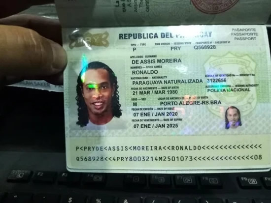 HEADING HOME Ronaldinho set to end five-month prison hell and return to Brazil after fake passport scandal