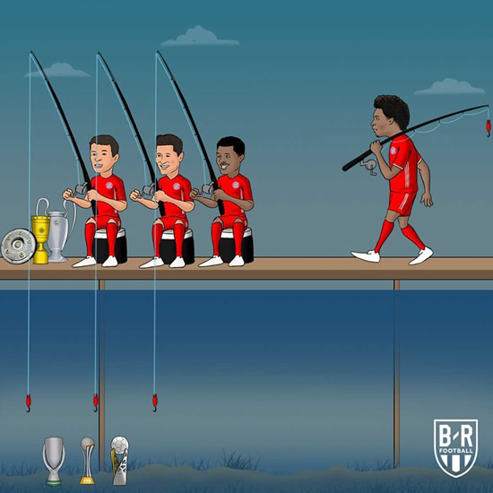 7M Daily Laugh - Adds Leroy Sane to a treble-winning team