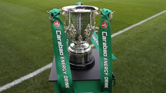 Liverpool could face Leicester or Arsenal following Carabao Cup round four draw