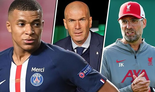 Liverpool and Real Madrid in regular contact with Kylian Mbappe over mega 2021 transfer