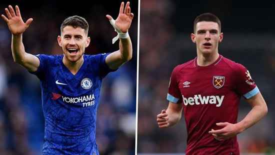 Transfer news and rumours LIVE: Jorginho could join Arsenal if Rice moves to Chelsea