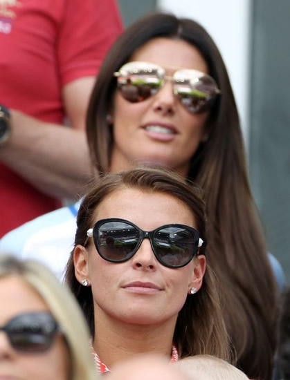 Rebekah Vardy ignores Coleen Rooney Wagatha Christie drama with braless snap