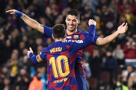 SUAR TASTE Luis Suarez explosively reveals he was booted out of Barcelona due to close friendship with Lionel Messi