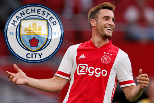 Man City to eye another transfer move for Nicolas Tagliafico in January as Guardiola searches for new left-back