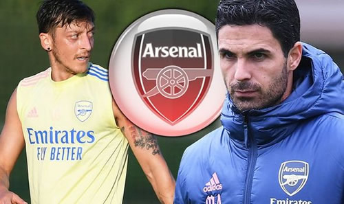 Arsenal boss Mikel Arteta hands Mesut Ozil ultimatum over Gunners future