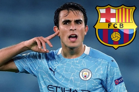 BARC FOR MORE Eric Garcia plans to reject Pep Guardiola's 'seduction' and quit Man City for Barcelona transfer next year