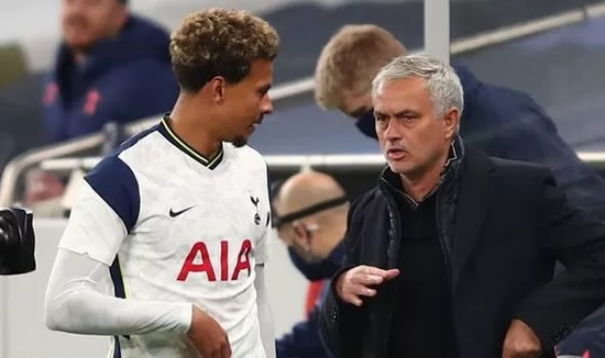 Dele Alli urged to quit Tottenham in January window because of Jose Mourinho 'message'