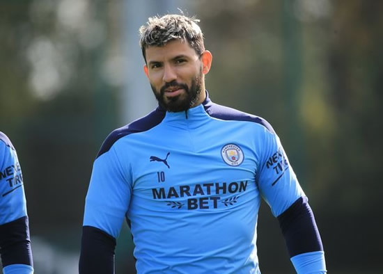 Liverpool blow as Man City set to have Sergio Aguero return from injury for clash