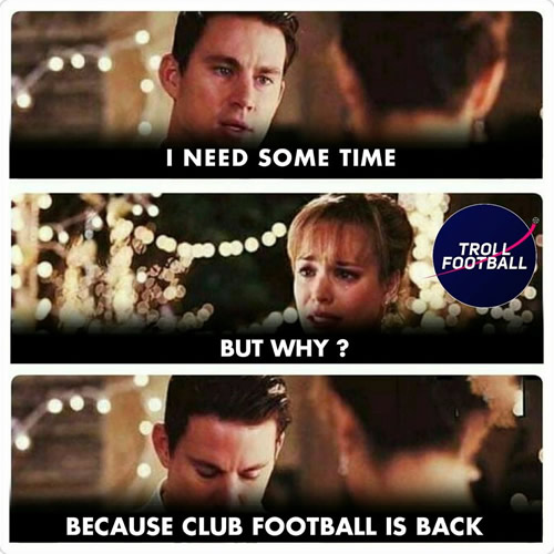 7M Daily Laugh - Club football is back from today