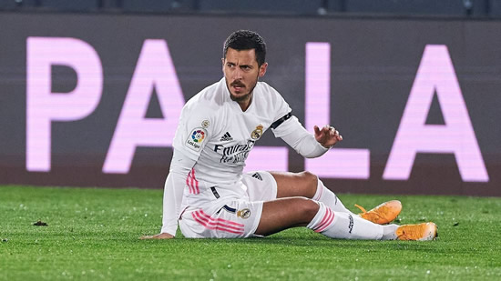 Real Madrid's Hazard injured again; to miss Atletico derby