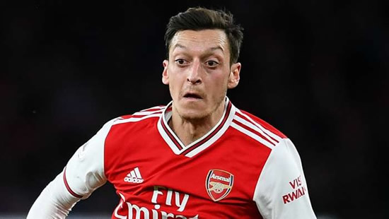 Ozil 'has received offers from all over the world' but will stay at Arsenal, claims agent