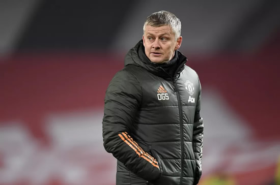 Ole Gunnar Solskjaer will not allow Man Utd to ease off if they reach summit