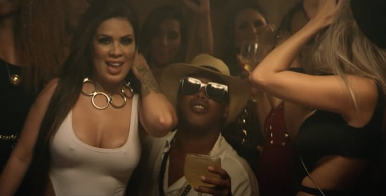 Ronaldinho stars in music video featuring half-naked models as Brazilian changes career