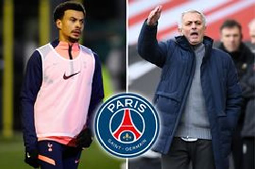 Dele Alli 'pushing to join PSG' after latest Jose Mourinho snub - but Tottenham not convinced