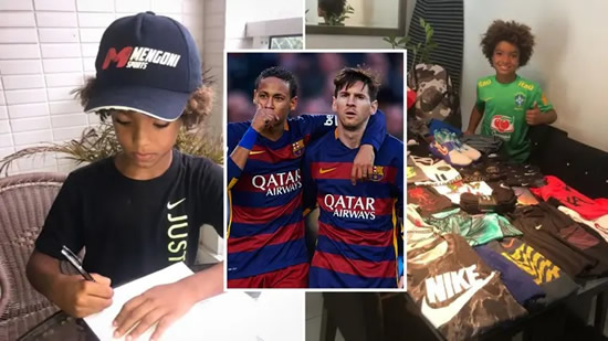 Eight-Year-Old Kauan Basile Surpasses Lionel Messi & Neymar As Nike's Youngest-Ever Signing
