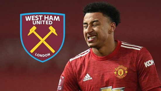 Man Utd outcast Lingard joins West Ham on loan until end of 2020-21 season
