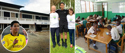 Borussia Dortmund ace Jude Bellingham donates cash to build school in Kenya with ambitions to build legacy off the pitch