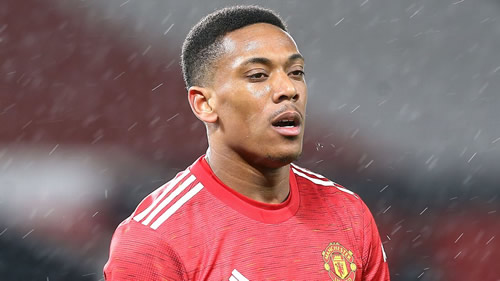 Man United's Martial racially abused online again after West Brom draw
