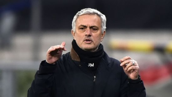 Mourinho on Tottenham pressure: I'll be in club's history for good reasons