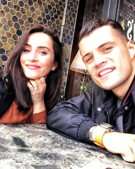 XHAK ATTACK Arsenal star Xhaka slams trolls who abused wife and baby on social media and says personal attacks will 'kill football'