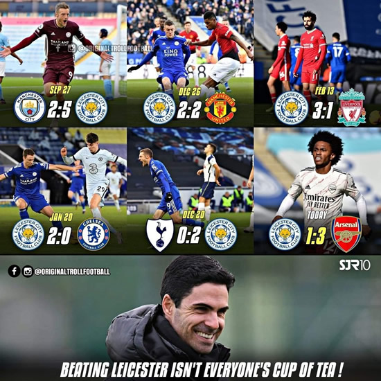 7M Daily Laugh - Leicester 1-3 Arsenal