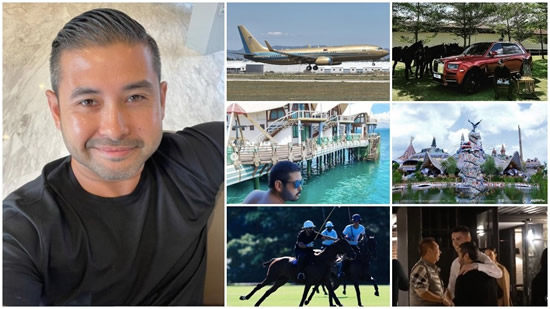 The prince of Johor who plans to buy Valencia: A 700m euro fortune, golden Boeing and replica Flintstones house